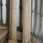 König Gustav - Old wooden columns - gustavian.de