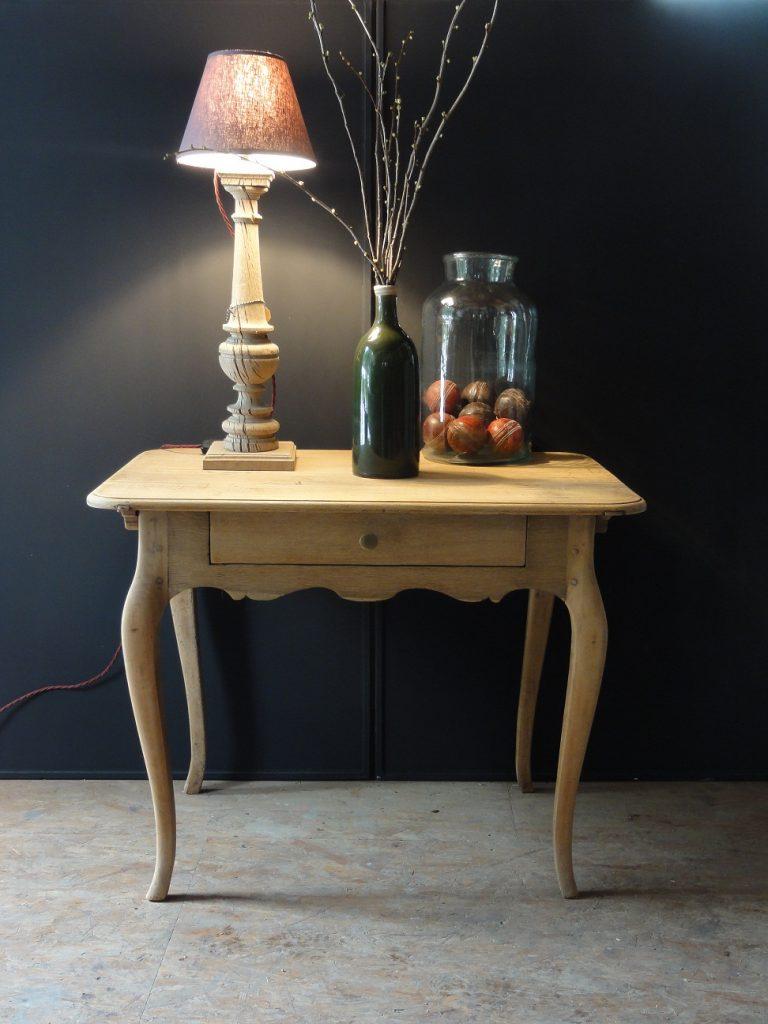 Rococo Table Bleeched Oak