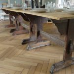 Set of 3 Tables. Long Dining Table