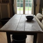 Solid Belgian Oak Working Table