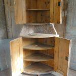 Small Swedish Corner Cabinet.