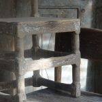 Set of 3 Early 18th Century Swedish Country Chairs.