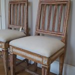 Pair of Gustavian Period Childrens Chairs
