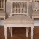 Set of 4 Gustavian Style Chairs From About 1880