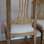 Pair of Yellow Painted (Probably Danish) Chairs From About 1790