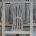 Set of 6 Gustavian Style Chairs From About 1880