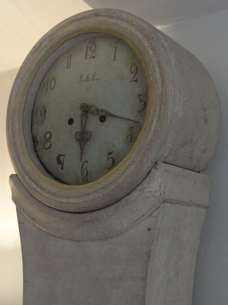 Gustavian Long Case Clock