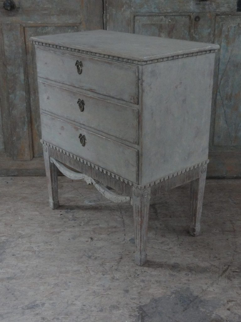 Danish Gustavian Commode - Altona Hamburg