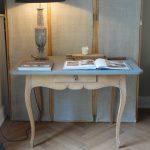 Belgium bleached oak rococo table