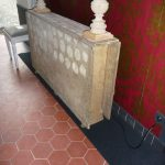 Large Painted 18th Century Gustavian Drop Leaf Table
