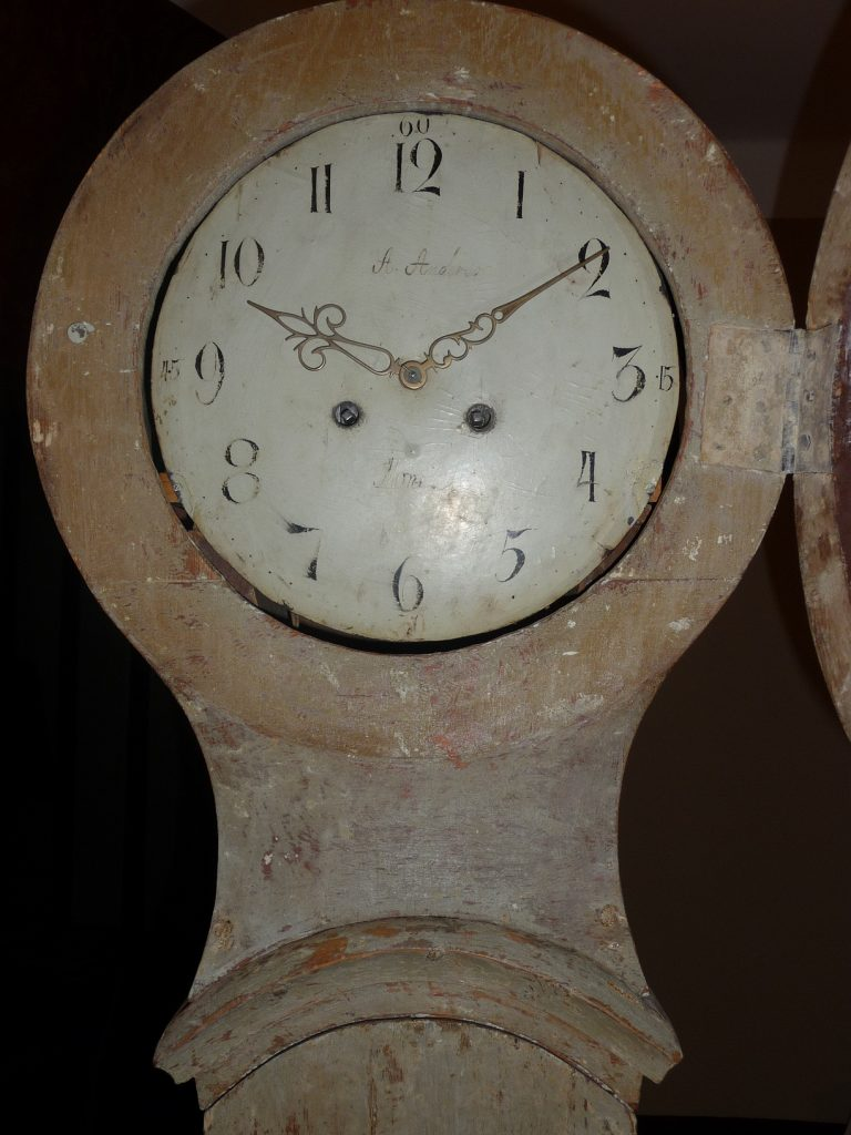 Gustavian Period Long Case Clock