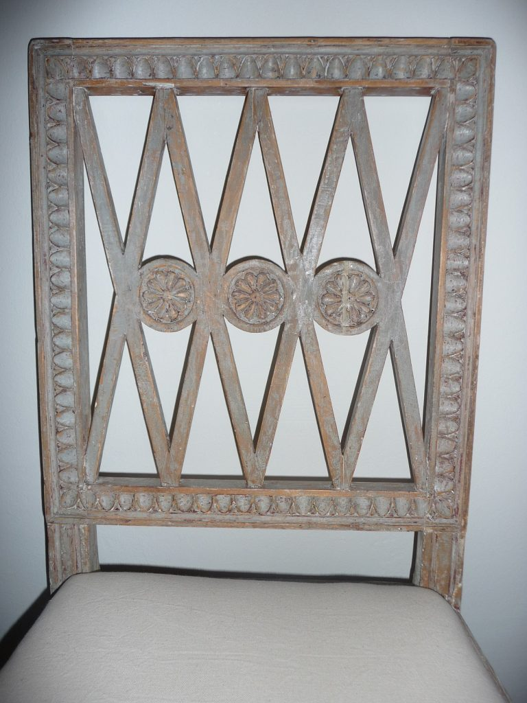 Gustavian Period Chair