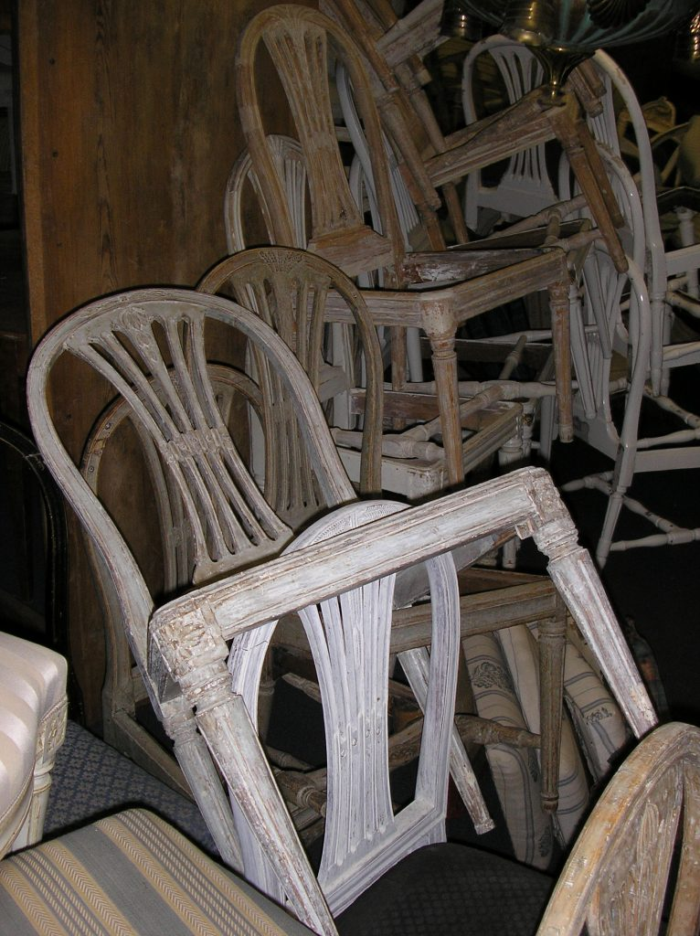Collection of Gustavian Chairs