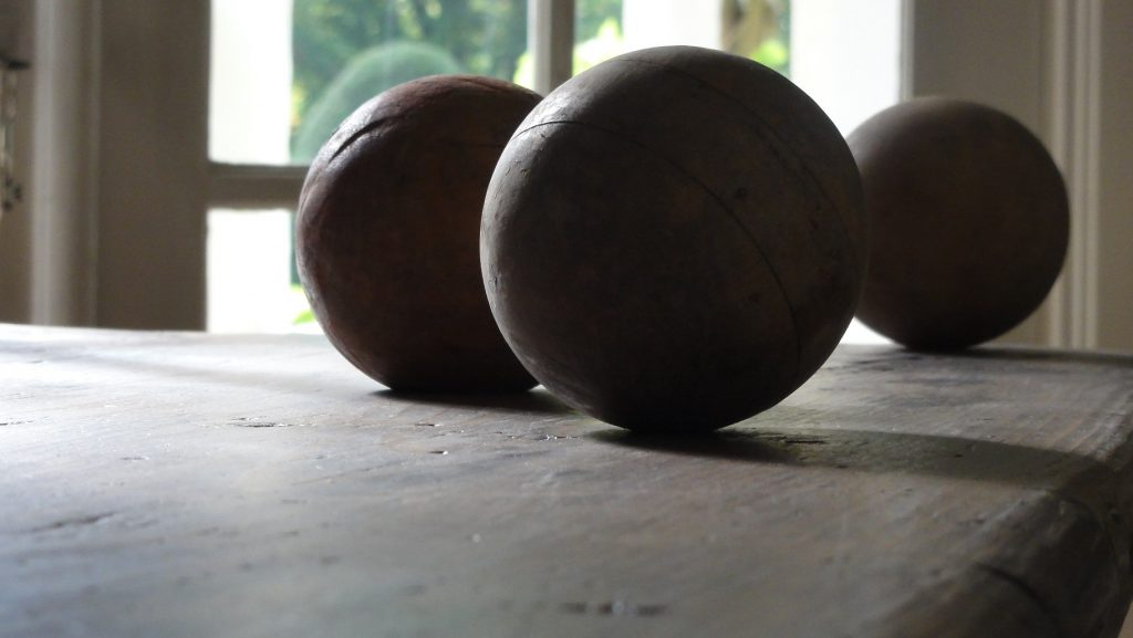 Antique Crocket Balls