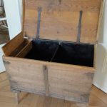 Very unusal 18th Century Belgian Chest  in Needlewood