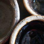 Little 19th Century Antique Glazed Claypots. Magdeburg around 1880