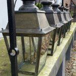 Set of 6 Antique Hall Lanterns