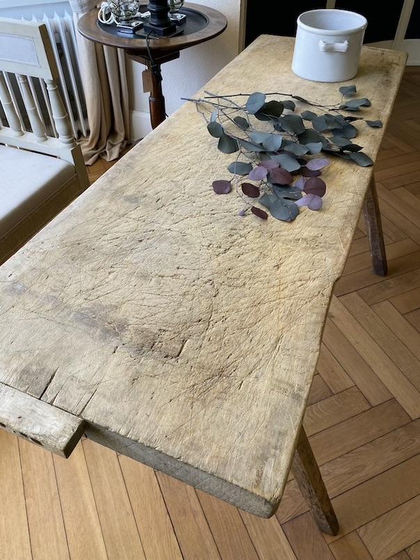 Antique Working Table - Belgium 19th Century