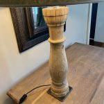 Large Antique Table Lamp