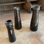 Set of 3 Antique Truffle Oil Bottles - France around 1760
