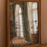 Gilded Louis Seize Mirror - France Around 1780