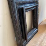 Small Flemish Ebonized Frame  - Belgium 19th Century