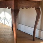 Red Painted Baroque Table - Sweden 18th Century