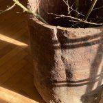 Large Wabi Sabi Antique Wooden Planter
