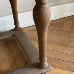 18th Century Bleached Oak Table - Belgium 1765
