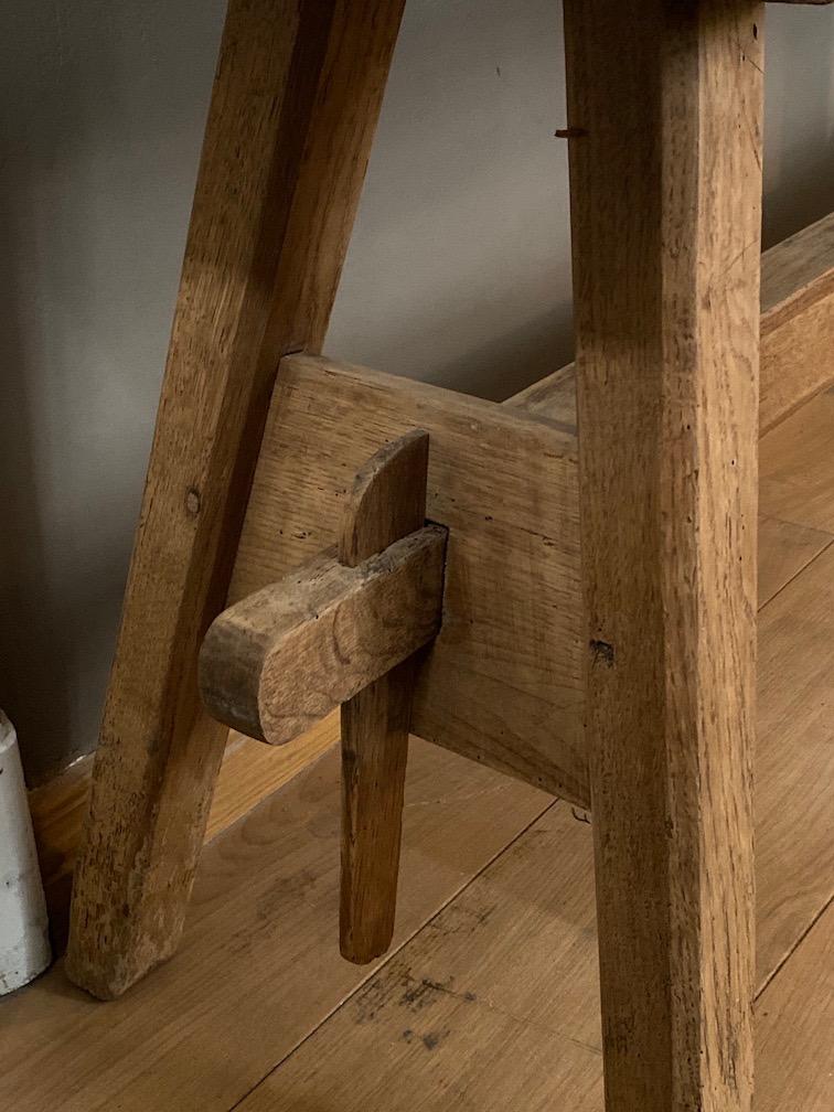 Low Antique Oak Table