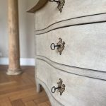 Swedish Painted Rococo Commode - Sweden Around 1770